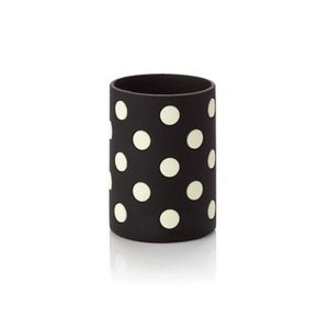 Kate Spade Lets Chill Black Dot Drink Cozy